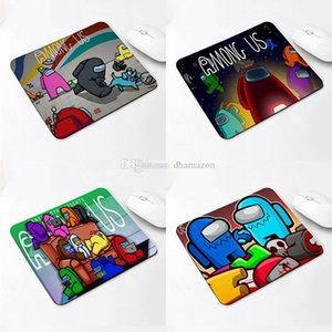 Among Us Mouse Pad Party Gaming Among Us Mousepad Computer Otaku Cartoon MousePad Laptop Rubber Notebook Mat Free Shipping