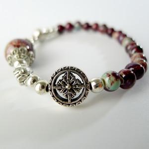 DIY Ceramic beads Hand-made Beaded Bracelet Hand-made Bohemian Charm Bracelets For Women #EY509