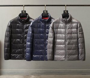 Parkas Mens Down Jackets Classic Outerwear Men Puffer Coats Pocket 2020 Winter Hot Sale Jackets Letter Pattern Mens Clothing