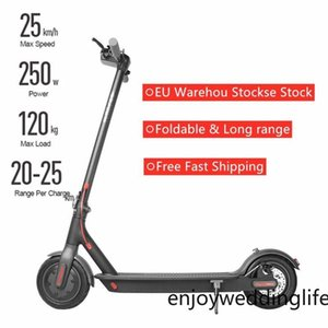 EU US Stock 7 Days No Tax Portable Electric Scooter Long Range Door To Door Delivery Cycling Commute Kids Adult Electric Bicycle Mini Bike