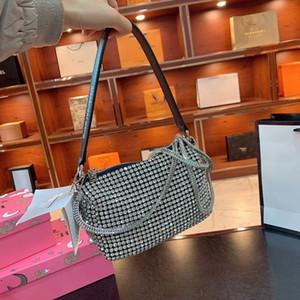 Cause and effect bag unisex fashion crystal diamond messenger bag design female chest bag girl shoulder high quality hot sale lady