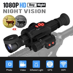 Eagleeye HD 4X Day & Sxope Digital Night Vision Monocular With IR850 Infra-Red Illuminator for CL27-0030