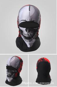 Cycling ear muff breathable sweat-proof headband sun protection headgear magic Tactical Half Face mask Thin Section Sports Headwear D10115