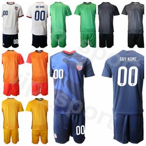 Goalie US Futebol Goleiro 22 Ethan Horvath Jersey Set Tim Howard 1 Bill Hamid Ashlyn Harris Hope Solo Camisa de Futebol Kits Tamanho S-XXL