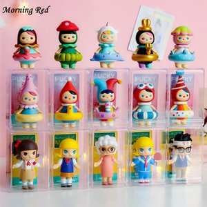 Toy Storage Box Anime Figure Rack Dustproof Transparent Plastic Single Display Cabinet Doll Organizer Gifts for Child and Friend Z1123
