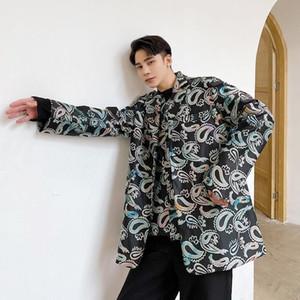 Spring 2021 The New Fashion Listing Due parti Designer Parts Handcrafted Stampa Vestito manica lunga Migliore Abbigliamento da uomo DG7P