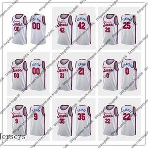 76ers personnaliséscrême PhiladelphiaHarris 21 Embiid 22 Thybulle 25 Simmons Basketball Jerseys Tobias Joel Ben Matisse Classic Jersey