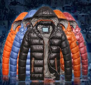 2021 Neue Marke Designer Männliche Mäntel Mode Winter Kleine Steine Jacke Hohe Qualität Warme Freizeit Winter Dicke Mantel Abzeichen Männer Top Kleidung