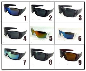 DESIGNER STYLE للرجال SUNLASSES النساء في الهواء الطلق الرياضة SUNLASS SIGN GLASSES BICYCLE SUN GLASSES 9 ألوان