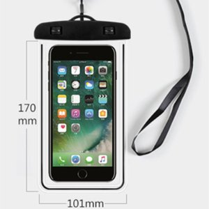 Camouflage Waterproof case Universal Water Proof Bag armband pouch Cover For all iphone 7 Cell Phone bag
