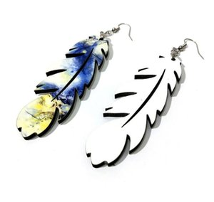 DIY Sublimation Blanks Earrings Designer Earrings Party Gifts DIY Valentines Day Gifts For Women 14 Style