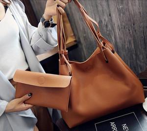 New handbag fashion one-shoulder tote bag simple messenger bag large-capacity retro all-match portable portable picture big bag tide 008