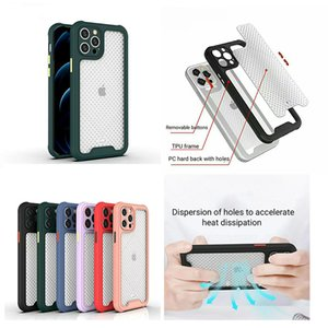 Hollow Out Case Hard PC Back for iphone 12 11 pro max Samsung S20 ultra S10 Note20 A51 A71 A10S A20S A01 A20 A50 A70 M10 A21S M21 A11 M11