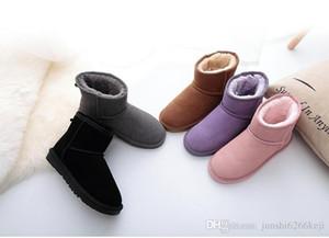 2021 Высокое качество WGG женская классическая высокая сапоги женские сапоги ботинки снежные ботинки зимний ботинок кожаный загрузчик сертификат пыли сумка падение