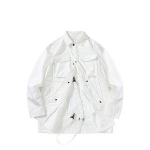 Spring and Automne Style Vestes Hommes Haute Qualité Amants chinois en plein air European American Fashion Sac de rangement pliable