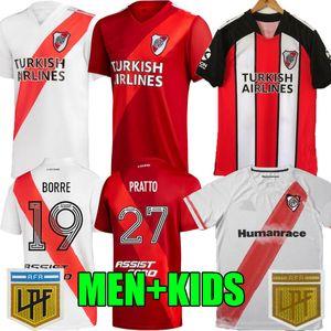20 21 River Plate Jersey Soccer 1995 1996 Retro de la Cruz D, Alessandro Balanta Cavenaghi 2020 2021 Fernández Borre Tercera 3ra Fútbol Camisa