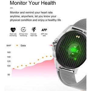 Smart Watch R23 Touch Waterproof Bracelet Heart Rate Blood Pressure Fitness Tracker Color Men Women Sports Call Alarm Clock Band jllIDD