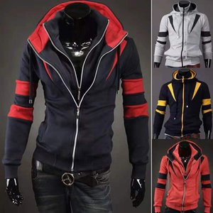 Black biker jacket, men's jacket, zipper, slim fit, short hip-hop casual motorcycle jacket, men's top, workout clothes,free shipping