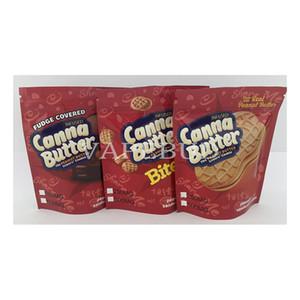 250 mg 500mg Burro di arachidi Burro Sandwich Cookies Canna Burro Viaggi Ahoy Edibles Stand Up Mylar Bags Edibles Gummies Packaging 420 Cannaburst