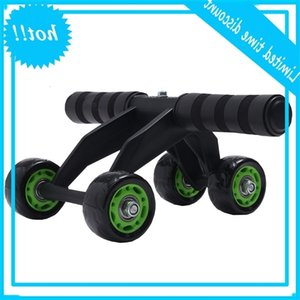 2020 가정용 피트니스 장비 근육 휠 롤 4 바퀴 AB 운동 안티 슬립 내구성 복부 롤러