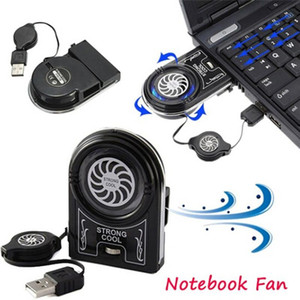 Flexible External Mini Vacuum Strong Cool Air Extract USB Notebook Laptop Cooling Cooler Fan Pad for Notebook Laptop Computer
