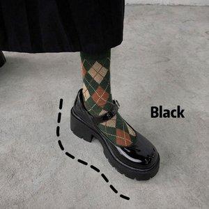 Japanese Mary Zhen women's College style single shoes Lolita Shoes Kawaii Goth Punk Platform Cosplay LoliShoes