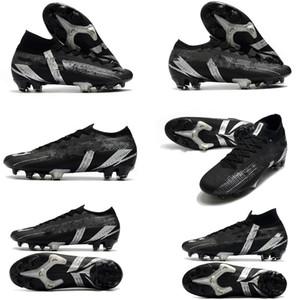 Antiscivolo Mercurial XIII 13 FG calcio calcio scarpe da calcio futuro Laboratorio Mbappe CR7 RONALDO NEYMAR Mens ACC Socks Soccer Tacchetti da calcio Boots