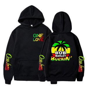 Winter Hoodies Sweatshirts Bob Marley Print Hoodie Long Sleeve Streetwear Hip Hop Reggae Music Harajuku Clothes Hoodie Womens