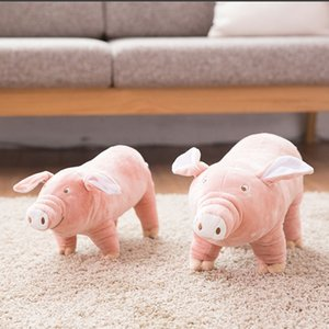Cute Pink Pig Doll Tough Clean Teeth Durable Chewing Toy Puppy Teething Dog Dropshipping Y1124