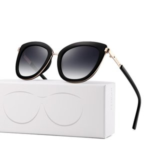 Evove Kedi Göz Güneş Gözlüğü Kadınlar Beyaz Güneş Gözlükleri Kadın Marka Tasarım Rhinestone Cat'seye Shades 2021