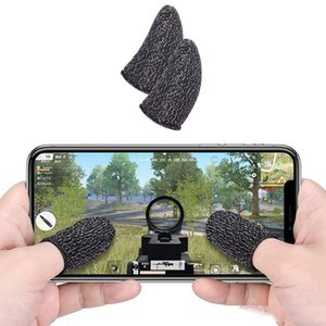 Breathable Mobile Game Controller Touch Screen Thumbs Finger Sleeve Touch Trigger for PUBG Mobile Phone Game Gaming Gloves