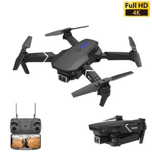 LS-E525 Дрон 4K PRESESESION RC DRON Quadcopter складные игрушки Дрон с камерой HD 4K Wi-Fi FPV Brones One Click Back Mini Dron 201105