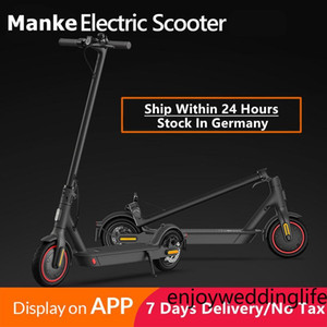 Keine Steuer EU US 7 Tage Versand Two Räder Falten Elektrische Roller Disc Bremsscheinwerfer Elektrische Fahrrad Roller Für elektrische Fahrrad MK083