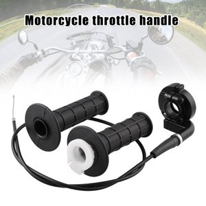 Twist Throttle Handle Grip Cable Set for Mini Bike Motorcycles Universal TD3261