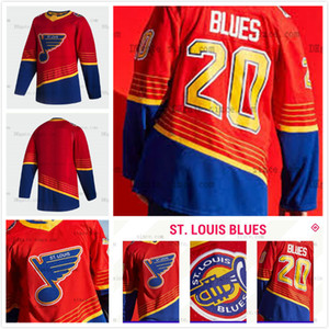 Vladimir Tarasenko St. Louis Blues 2021 Reverse Retro Hóquei Jersey Ryan O'Reilly Binnington Alex Pietrangelo Brayden Schenn Jaden Schwartz