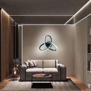 New Led Wall Lamp AC110V 220V Creative Warm White Bedroom Living Room Indoor Ceiling Wall Light Bedside Decoration Lighting