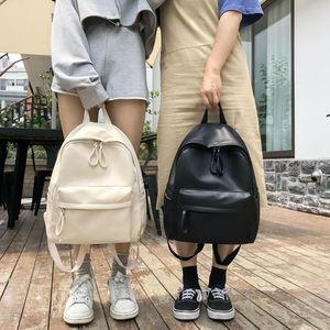 Рюкзак стиль опрятный женский корейский ins harajuku японские винтажные солидные большие емкости мода простая повседневная