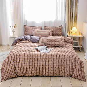 Winter bedding set 3 4 piece 100% cotton bedding set Large comforter King Queen size luxury home textile