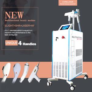 2021 Multifunzionale Laser Beauty Machine IPL SHR Laser ND Yag permanente Hair Remover Shart SHR IPL Riduzione dei capelli Q Interruttore Rimozione del tatuaggio laser