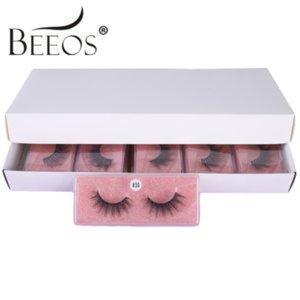 Beeos 3D Synthetic Cheveux 10/20/30/50 Nouveaux cils en gros Faux de faux cils Extension Faux Cils Naturel Fluffylong Eye Lashes