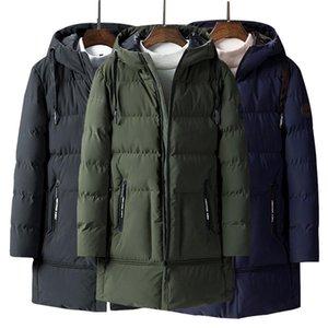Long Thick Parka Jacket Men 2020 Winter Mens Coats Hoody Parkas Zipper With Pocket -20 Degree Warm Parka Coat For Men M-4xl