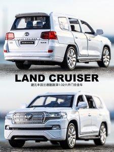 Landcool road Zelu patrol model 1:32 six simulation model, boy alloy toy car