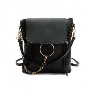 2019 Европа Мода Бренд Дизайнер Женщины Backapck Скраб PU Кожаные Женщины Сумки Mini Bag Bag Дамы Рюкзаки A1113