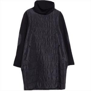 Sonbahar Kış Elbise Bayan Kore Versiyonu Ayakta Yaka Kapitone Uzun Kollu Elbise Büyük Boy Slim Sıcak Pamuk Ceket A807