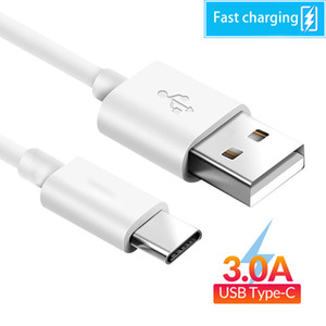 High Speed 3A USB Data Cable Micro USB Type C Fast Charging Cables 1M 2M 3M for Universal Cellphones charger cable