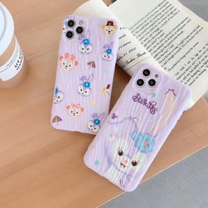 2020 new fashion rabbit mobile phone case for iphone 11 11pro max Xr Xs max X 7 7plus 8 8plus 6 6plus TPU soft case 00