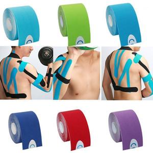 One Piece Kinesiology Tape Recuperación Atlética Cinta Elástica Kneepad Relieve Rodilleras Soporte Para Gimnasio Fitness Bandage1