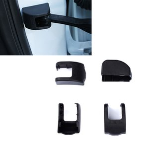 CAR Black ABS Front Rear Left Right Door Inner Limit Stopper Decorative Cover TRIM FRAME For Cadillac SRX 2010-2016