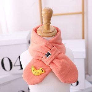 Size 70cm*9cm Fruit Children's Scarf New Winter Scarf Children's Warm Baby Girl Boy