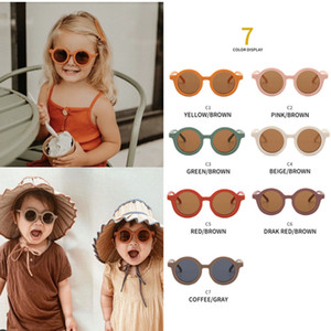 7 For Cute Cat INS Children Shades New Girls Colors Kids Sun Glasses Eye Color Sunglasses UV400 Sunglasses Children Baby Boys Kids Cand Lous